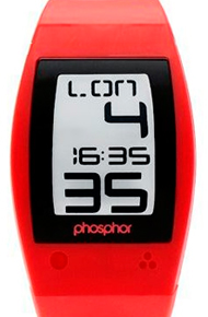 Часы Phosphor World Time Sport Red (WP004)