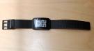 Часы Phosphor Digital Hour E-ink IPB на электронных чернилах, черные, кожаный ремень. DH05