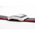Часы Phosphor Digital Hour E-ink на электронных чернилах, кожаный ремень. DH02
