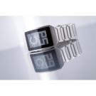 часы Phosphor Digital Hour E-ink на электронных чернилах, металлический браслет. DH03