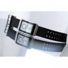 Часы Phosphor Digital Hour E-ink на электронных чернилах, полимерный браслет. DH01