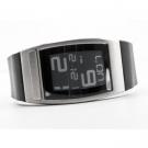 Наручные часы Phosphor World Time E-ink на электронных чернилах, кожаный ремень. WC03