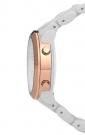 Наручные часы Phosphor Appear Bracelet с янтарными кристаллами Сваровски, белым корпусом и браслетом. MD009L